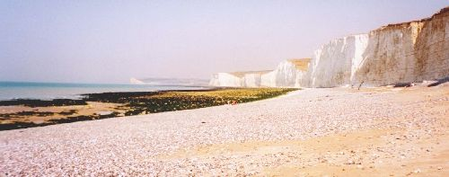 The Seven Sisters, seen from Birling Gap, East Sussex, UK