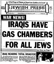 Jewish Press, February 21, 1991