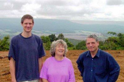 Germar Rudolf, Olga Scully, Dr. Fredrick Töben, 2001