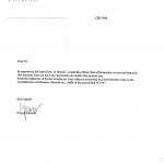 Igor Bartosik. letter, Auschwitz Museum 31 April 2016