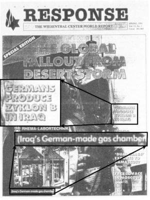 Response, volume 12, no. 1, spring 1991.