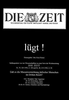 'Die Zeit lügt!' - Broschüre aus dem Jahre 1992